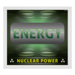Nuclear Is Clean Energy Poster