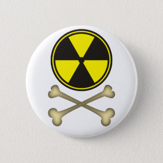 Nuclear power is dangerous 2 inch round button