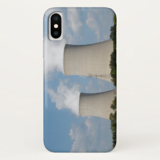 Nuclear Power Plant Cooling Towers iPhone X Case