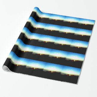 Nuclear Sunrise Wrapping Paper