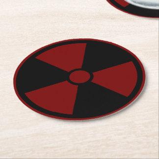 Nuclear Symbol Coaster Cloth
