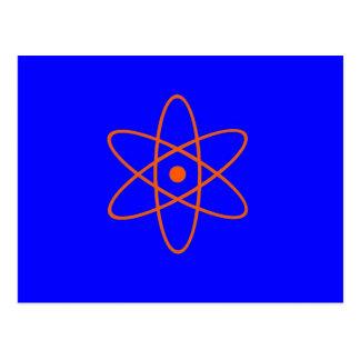 Nuclear Symbol Postcard