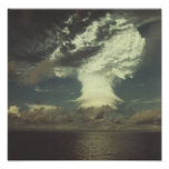 """Nuclear Test Photo """"Mike"""" Posters"""