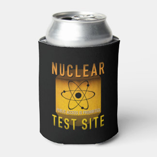 Nuclear Test Site Retro Atomic Age Grunge : Can Cooler