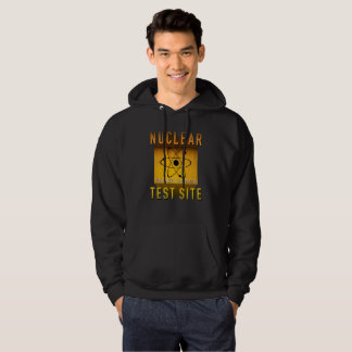 Nuclear Test Site Retro Atomic Age Grunge : Hoodie