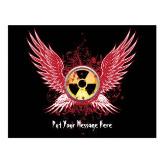 Nuclear Wings Postcard