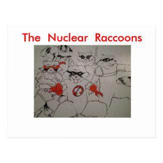 nuclearraccoonss, The  Nuclear  Raccoons Postcard