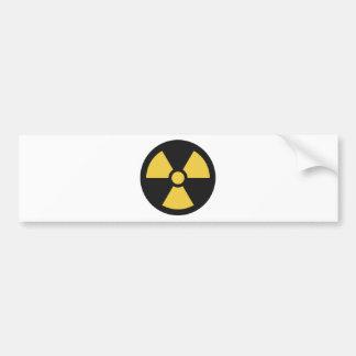 NuclearSymbol Bumper Sticker