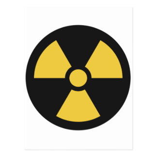 NuclearSymbol Postcard