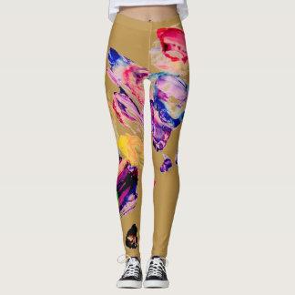 Nude Painting Leggings