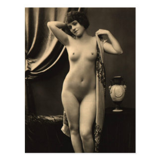 Nude Woman French Postcard