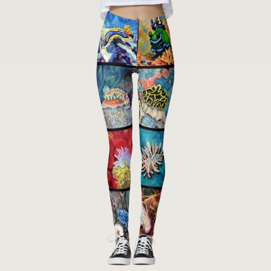 Nudi Art Leggings!! Leggings