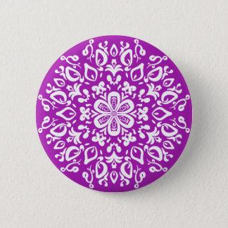 Nudibranch Mandala 2 Inch Round Button
