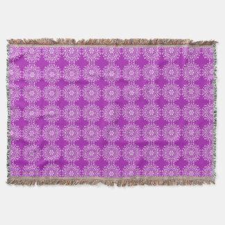 Nudibranch Mandala Throw Blanket