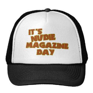 Nudie Magazine Day Trucker Hat