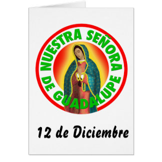 Nuestra Señora de Guadalupe Card