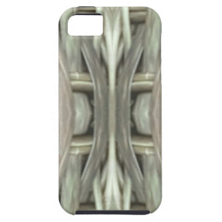 Nuetral Gray Toned Weave Pattern Case For The iPhone 5