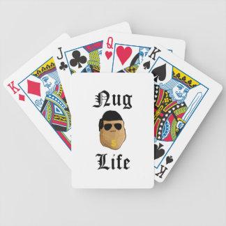 Nug Life Bicycle Playing Cards