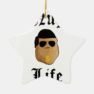 Nug Life Ceramic Ornament