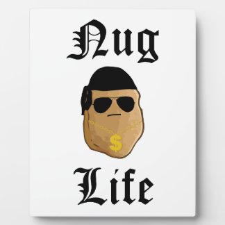 Nug Life Plaque