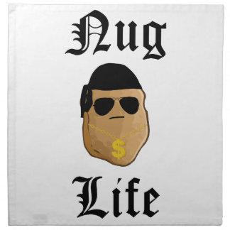 Nug Life Printed Napkin