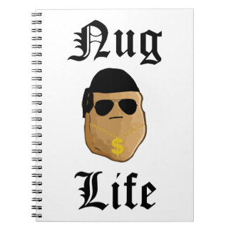 Nug Life Spiral Notebook