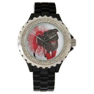 Nugget, APARN SpokesPug, Rhinestone Watch