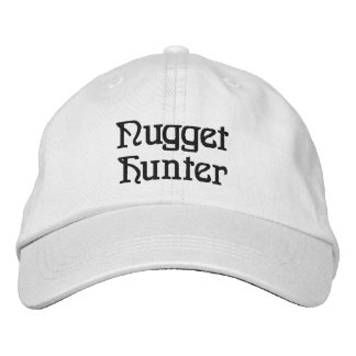 Nugget Hunter Gold Prospecting Panning Hat Embroidered Hat