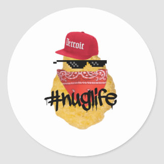 Nugget Life Stickers