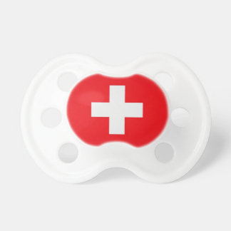 Nuggi with Swiss cross Pacifier