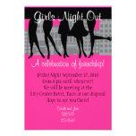Nuit de filles invitations personnalisées