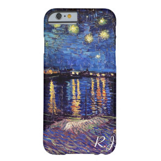 Nuit étoilée au-dessus du Rhône par Van Gogh Coque Barely There iPhone 6