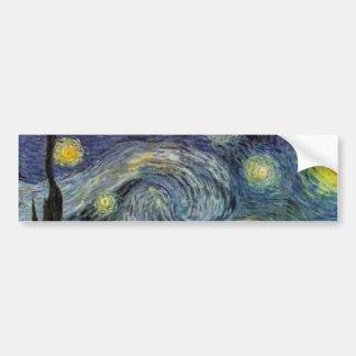 Nuit étoilée - Van Gogh Autocollant De Voiture