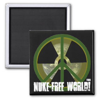 Nuke-Free World! Magnet