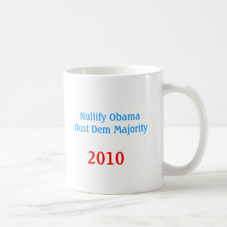 NULLIFY OBAMA COFFEE MUG