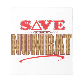 Numbat Save Notepads