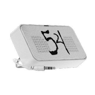 Number54 Travel Speaker