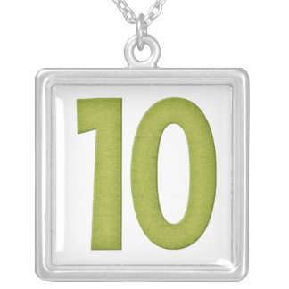 Number 10 Necklace Design 4