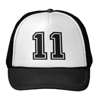 Number 11 Classic Trucker Hat
