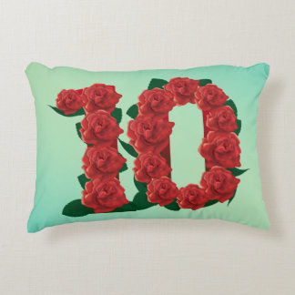 Number 16 16th anniversary Pillow