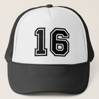 Number 16 Classic Trucker Hat