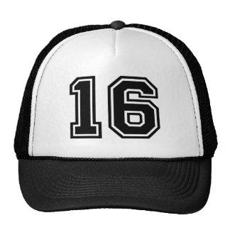 Number 16 Classic Trucker Hat