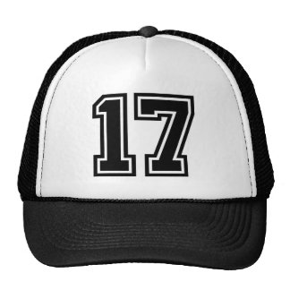 Number 17 Classic Trucker Hat