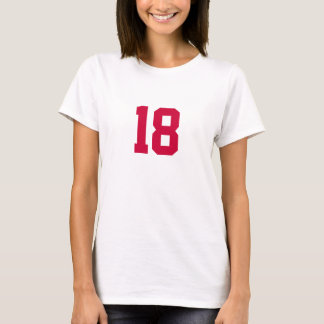 Number 18 T-Shirt
