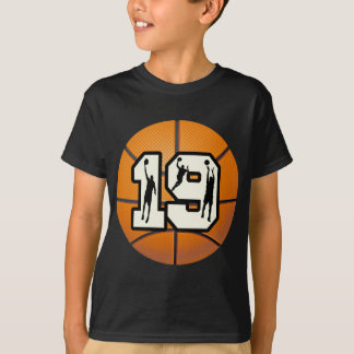 Number 19 Basketball T-Shirt