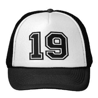 Number 19 Classic Trucker Hat