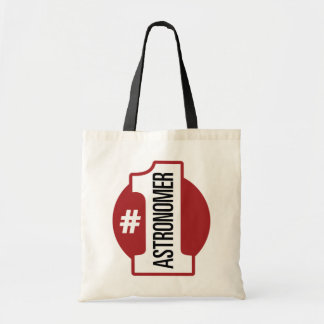 Number 1 Astronomer Tote Bag