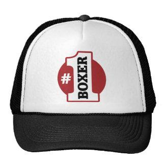 Number 1 Boxer Trucker Hat