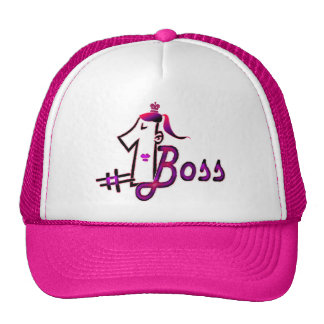 Number 1 cute boss hat for a young lady