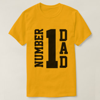 Number 1 Dad T-Shirt